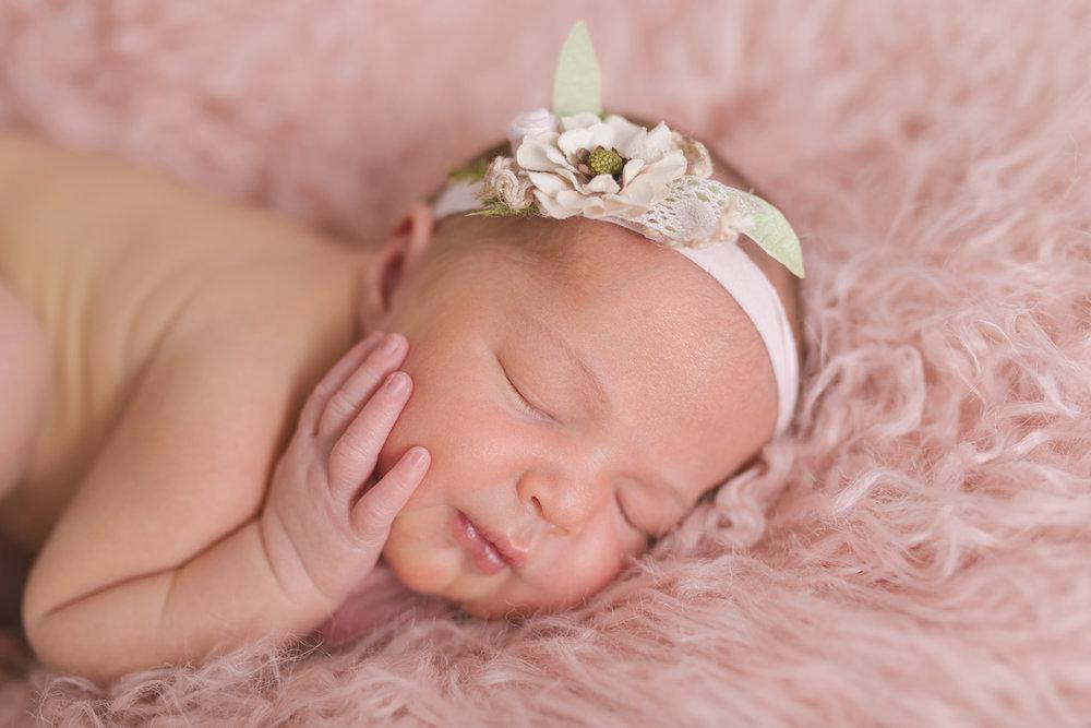 posed studio newborn baby session in cortland oh by newborn photographer christie leigh photo-12.jpg