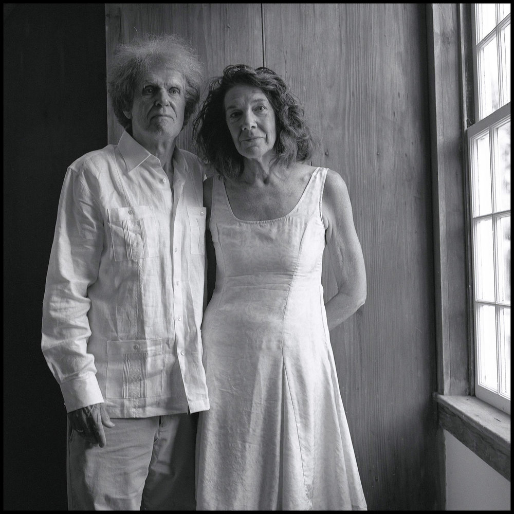 Mary Ruefle and Michael Burkard at the Wedding, from  Black and White Portraits