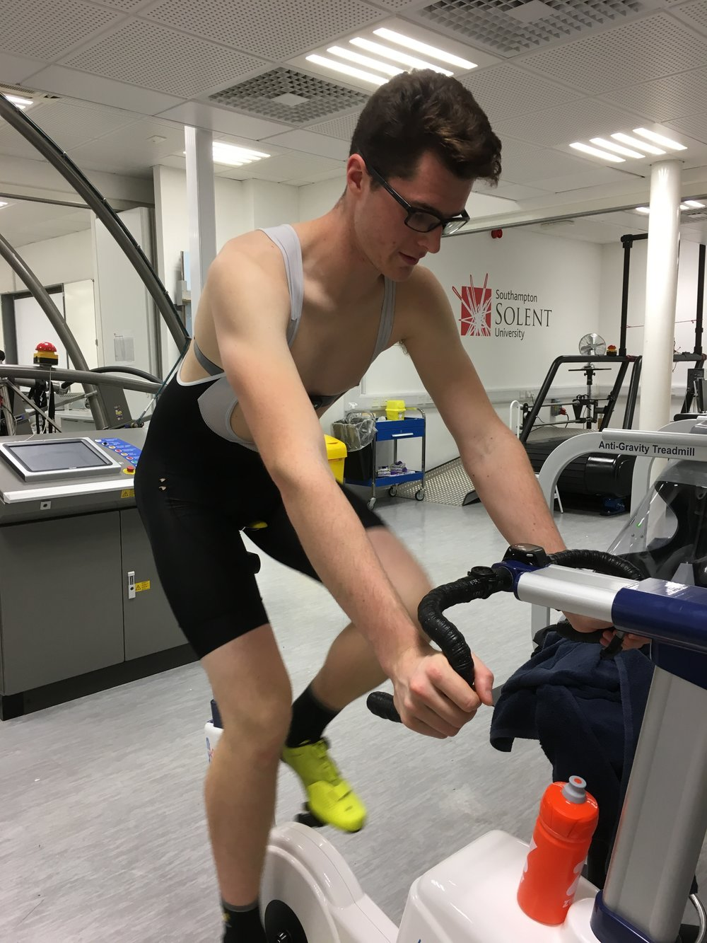Ryan Kimber - Level 2 Gym InstructorApplied Sports ScientistRyan has worked in the sports industry for a number of years, most recently specialising in several large bike shops providing knowledge and advice to cyclists of all abilities.Ryan is studying Applied Sports Science at Southampton Solent University to develop his passion for exercise physiology and human performance. His studies involve working within the high-performance academy to provide a wide range of testing protocols and interventions to the highest calibre University and GB athletes.Looking to the future, Ryan plans to augment his degree with qualifications in sports massage and personal training.Ryan is keen to share his passion for exercise physiology and happy to share his knowledge within Echelon so please do not hesitate to ask him about it.