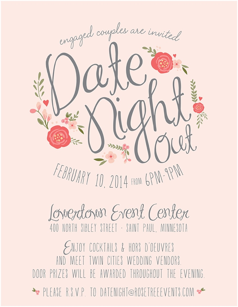 Rosetree presents DATE NIGHT OUT