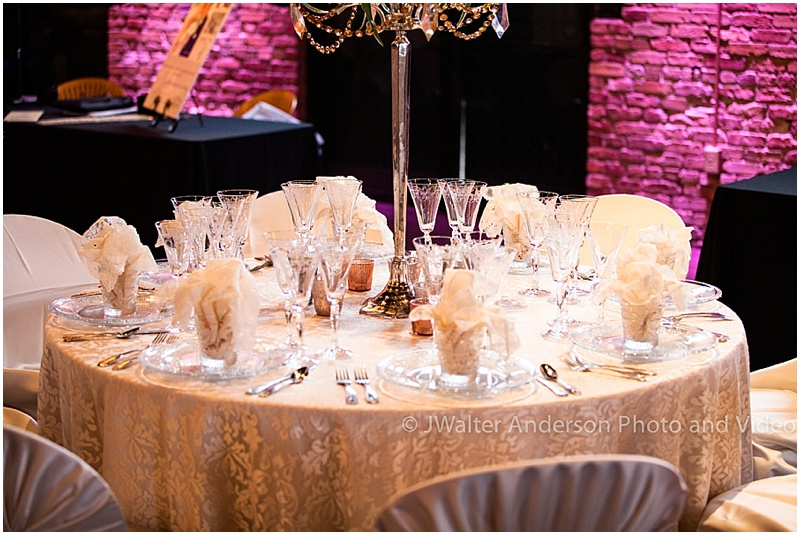 Ivory & White Tablescape