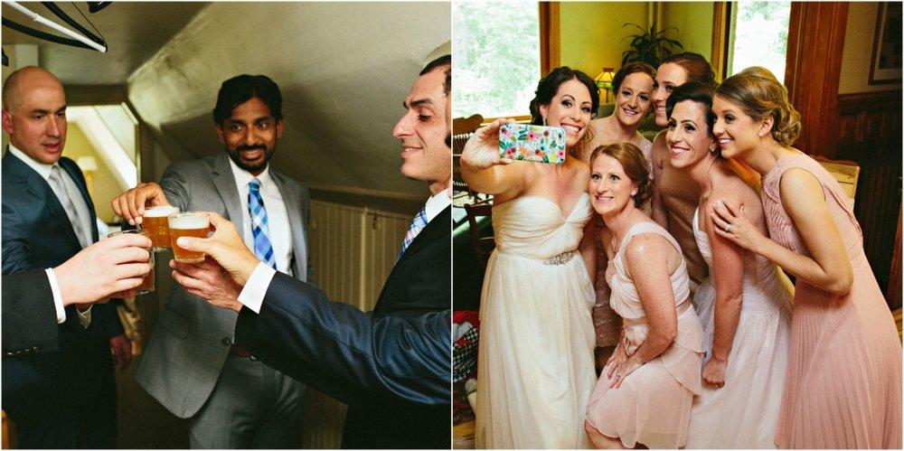 Shots and Wedding Selfies