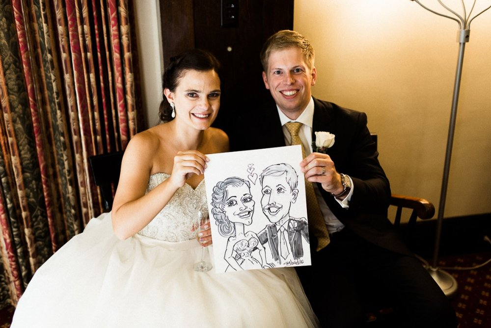 Minneapolis caricature artist