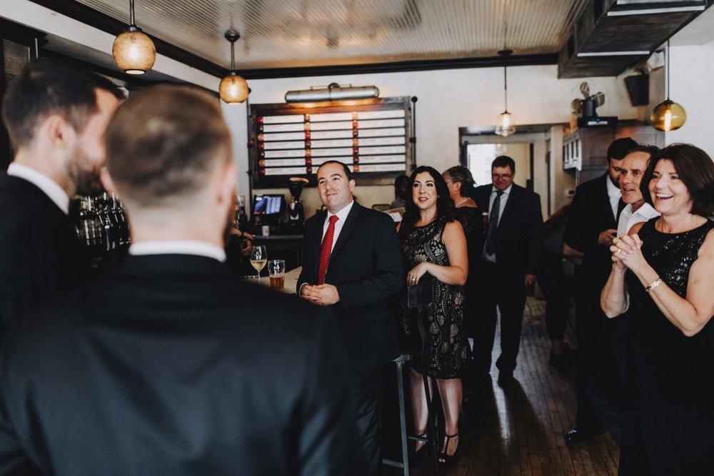 Linden Hills wedding reception
