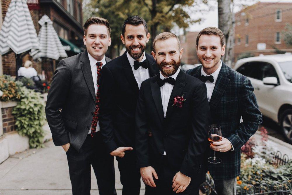 Wedding reception at Tilia in Linden Hills, Minnesota