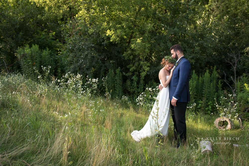 Bride and Groom photo at Historic Hope Glen Farm