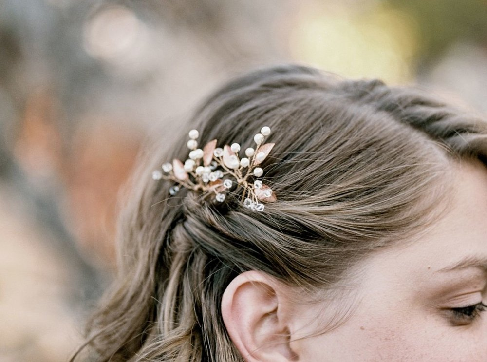 bridal accessory, hair piece