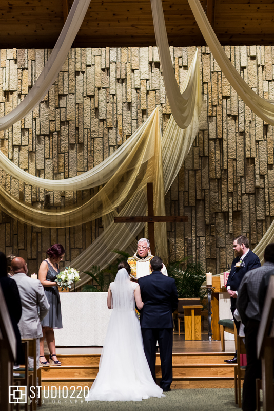 Pax Christi Catholic Community wedding in Minnesota