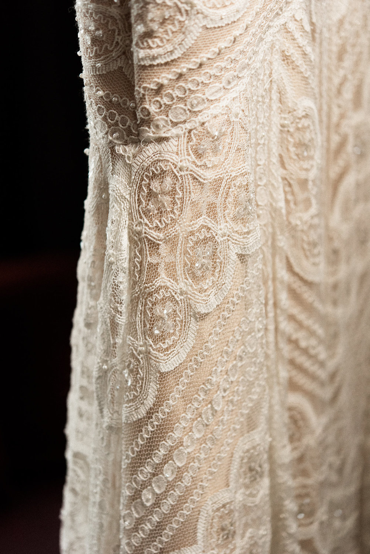 bridal overlay dress