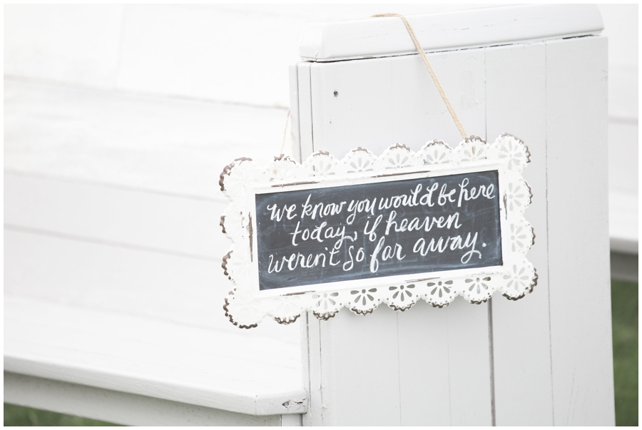 outdoor wedding ceremony signs