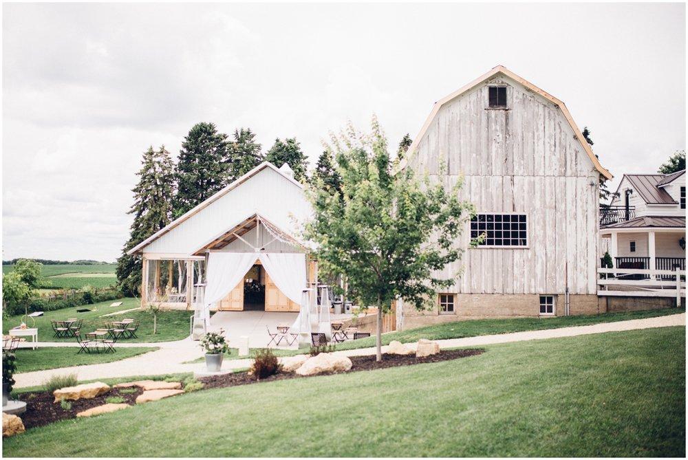 MN wedding at the Legacy Hill Farm