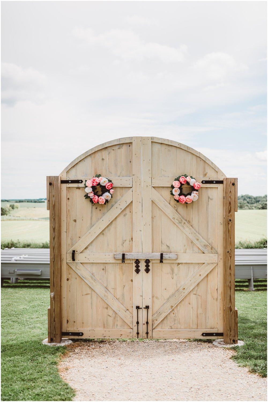 wedding doors for wedding ceremony