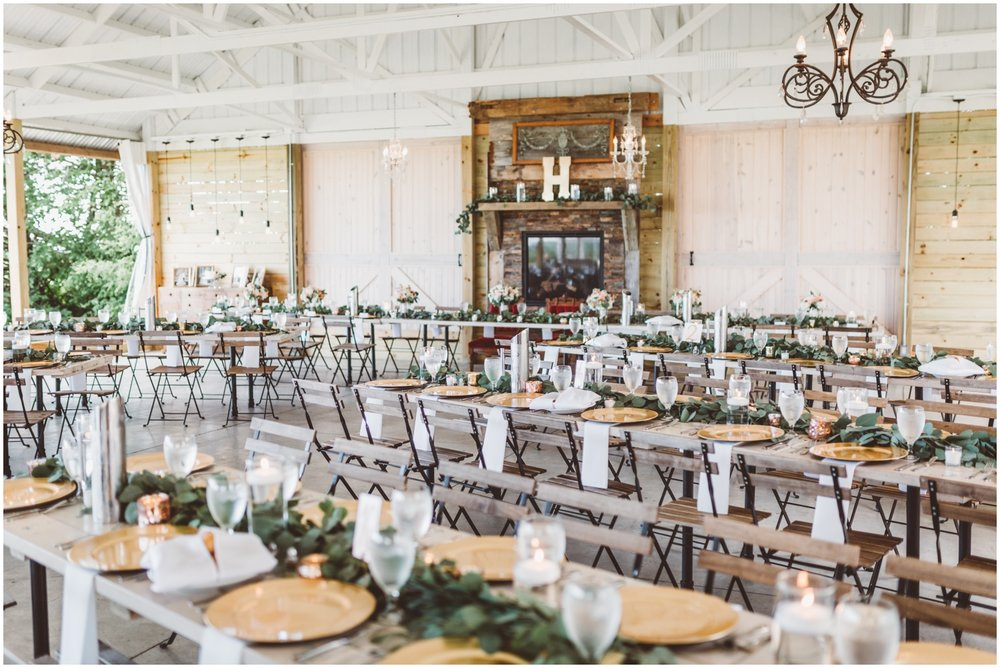 wedding reception in MN