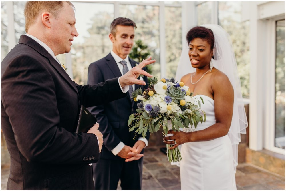 Como Conservatory Wedding Ceremony