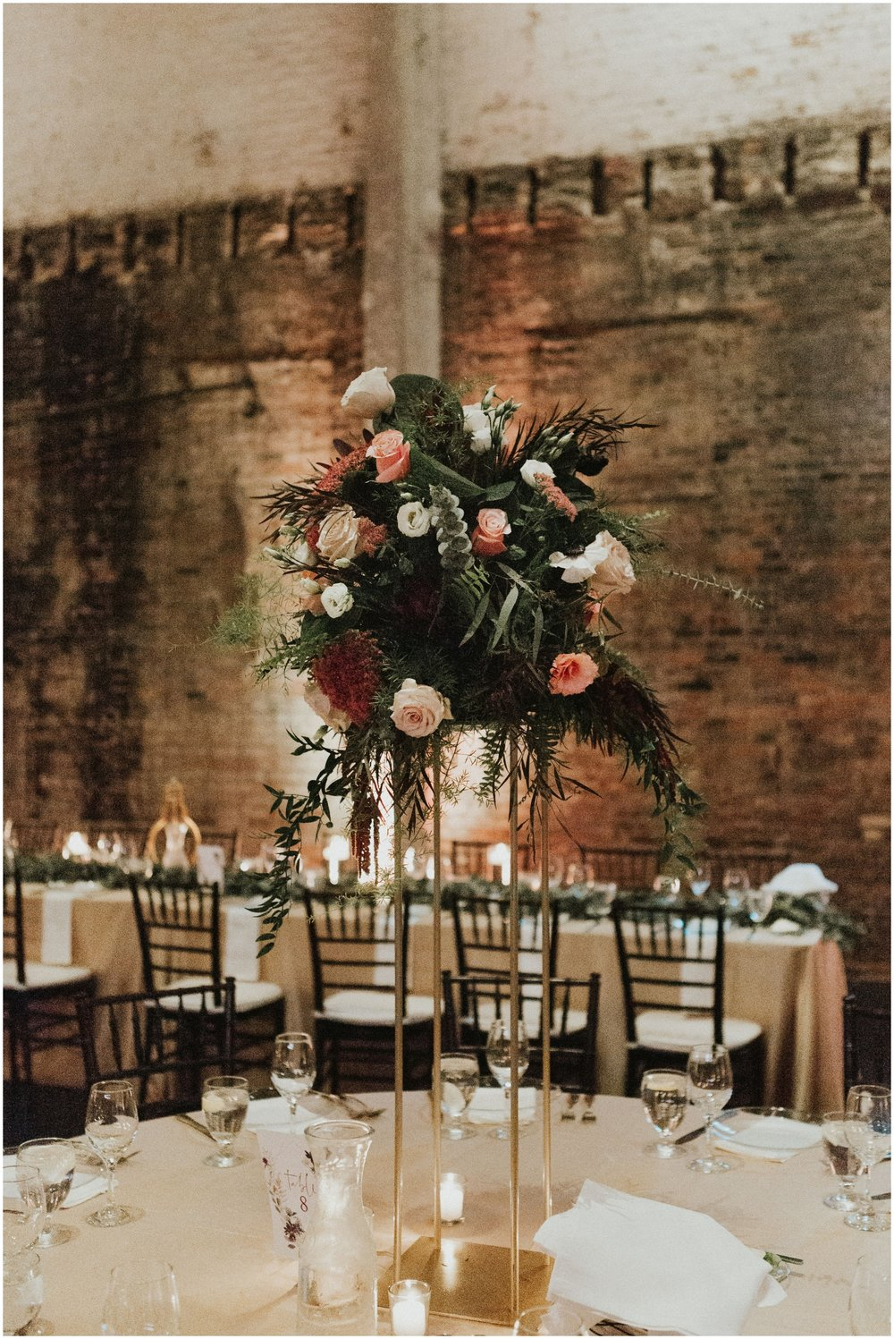 Tall Floral Wedding Centerpieces