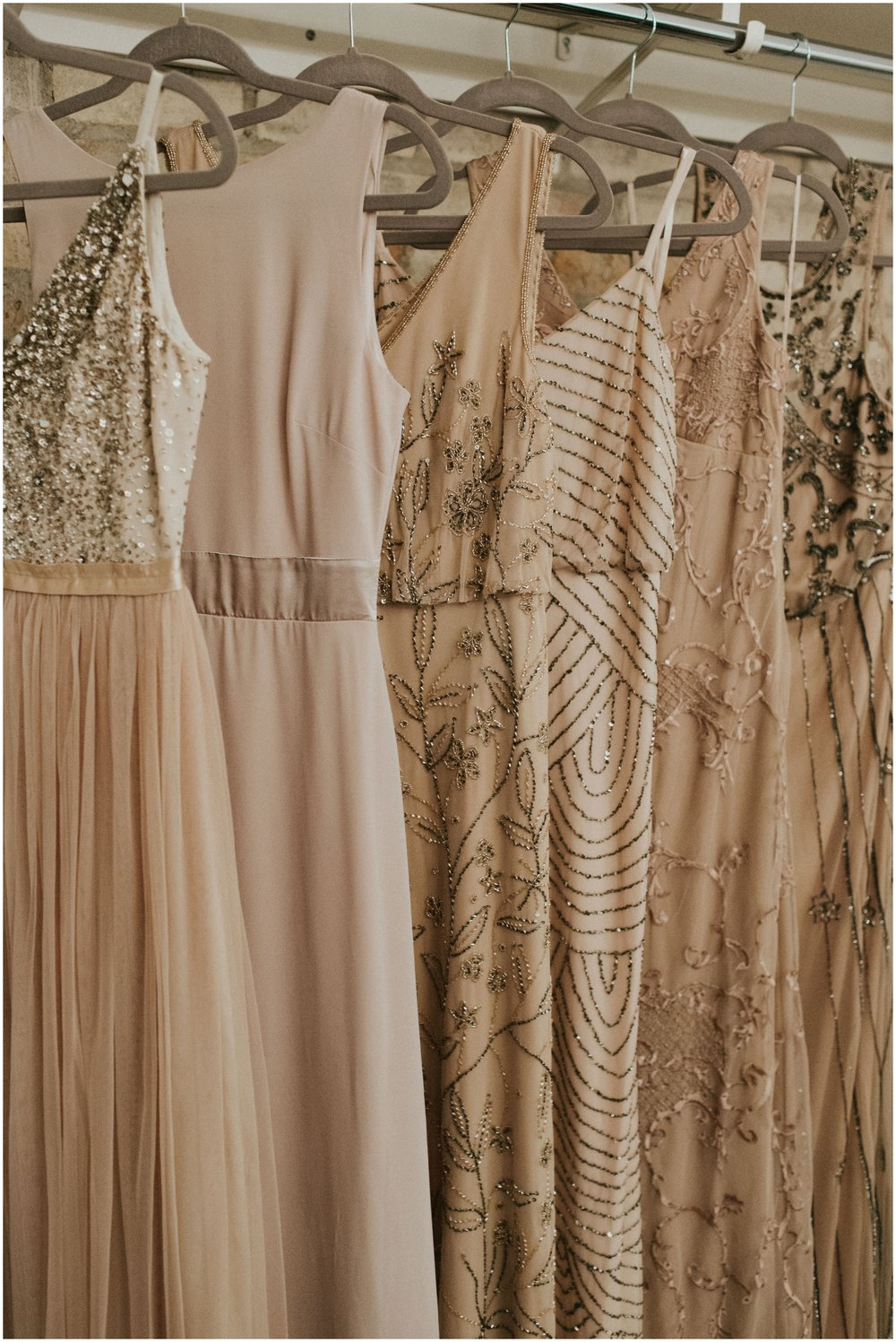 bridesmaids dresses detail