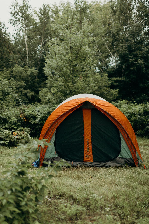 Tent in Wisconsin Wedding