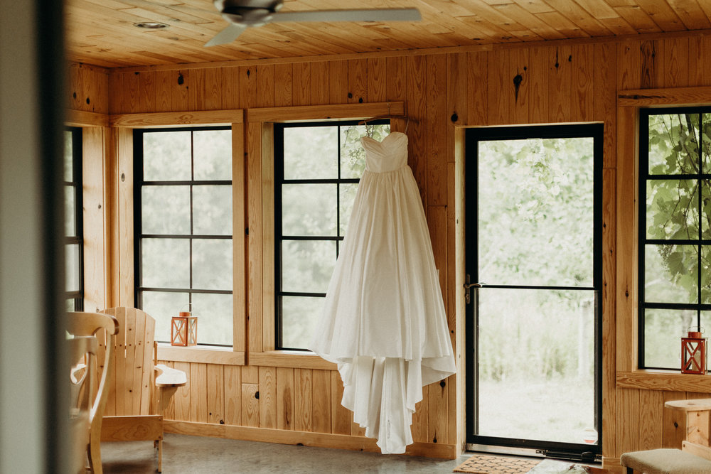 Wedding dress in Wisconsin