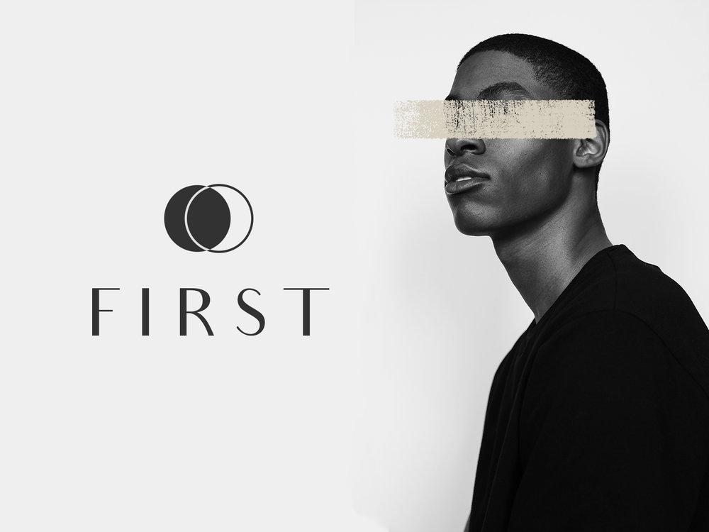FIRST : Facial Cleanser - Branding