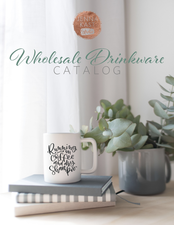 Get our Wholesale Drinkware Guide -