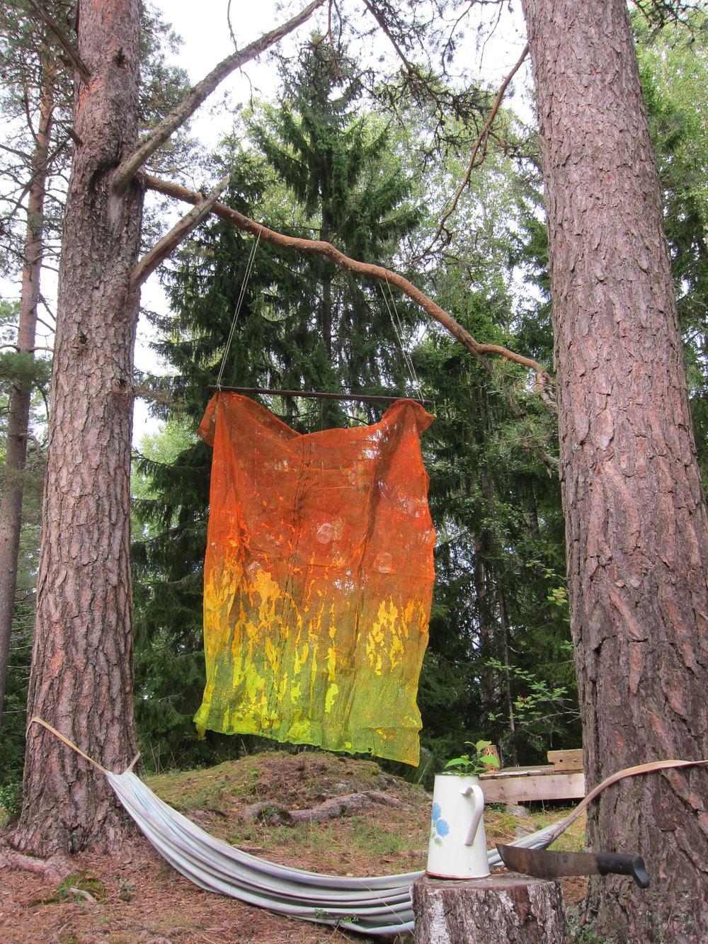 Forest intervention.  Barösund, Finland 2017.