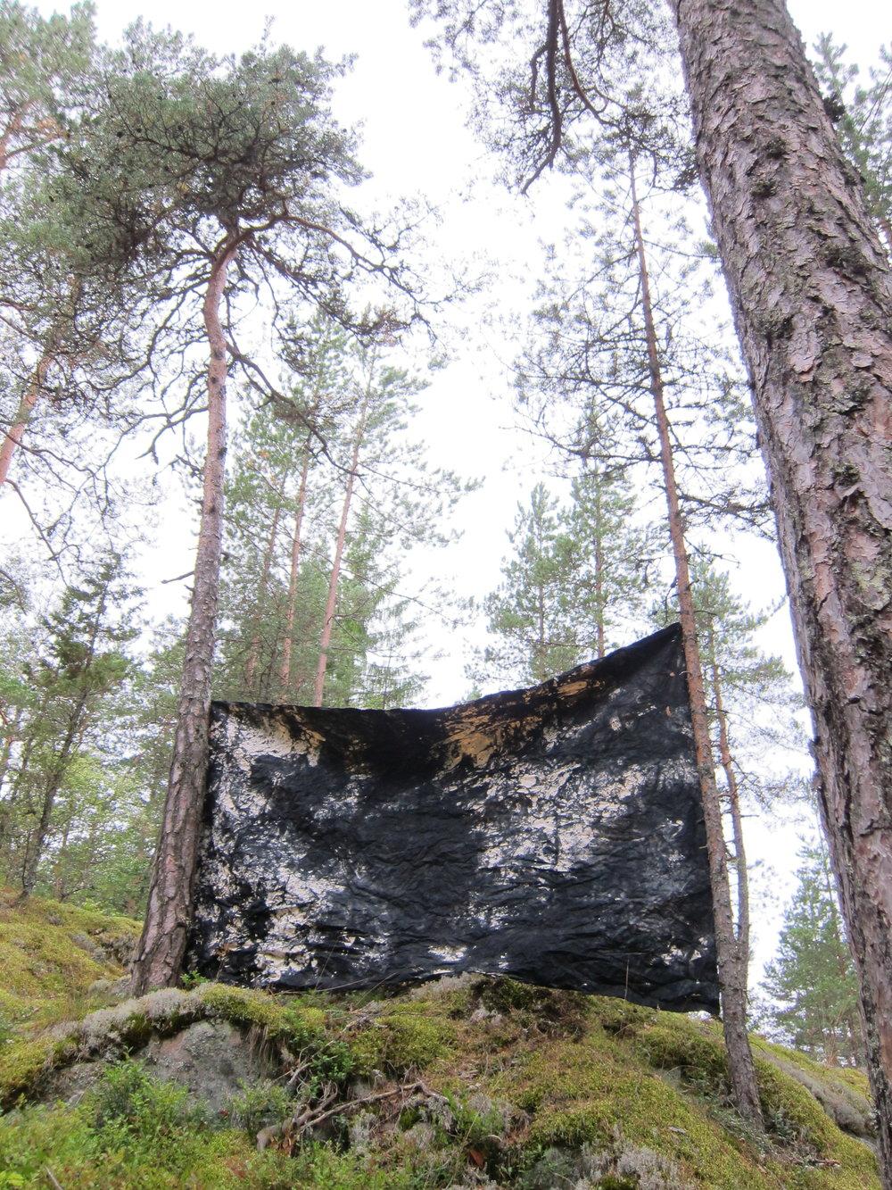 Forest studio.  Barösund, Finland 2O17.