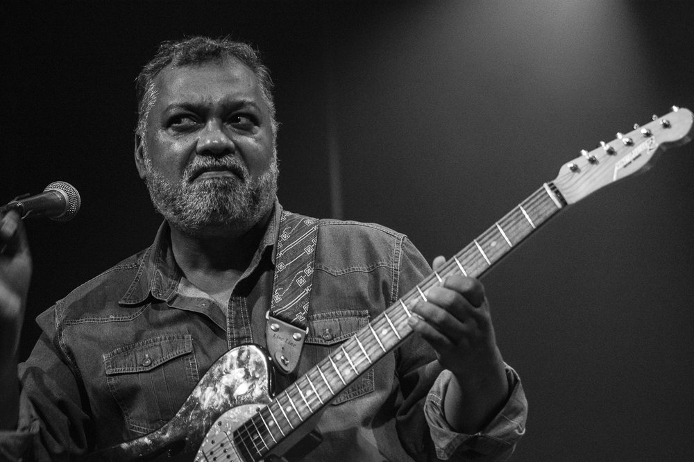 "Jean Paul ""Bluey"" Maunick - Incognito, Cinema Teatro Chiasso, 2016."