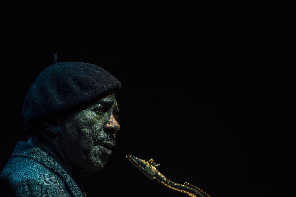 Benny Golson, Chiasso Jazz Festival, 2016.