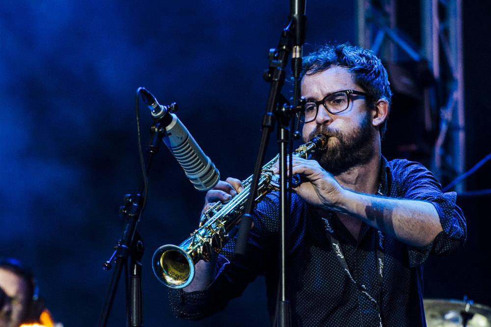 Emile Parisien, Lugano Estival Jazz, 2017.