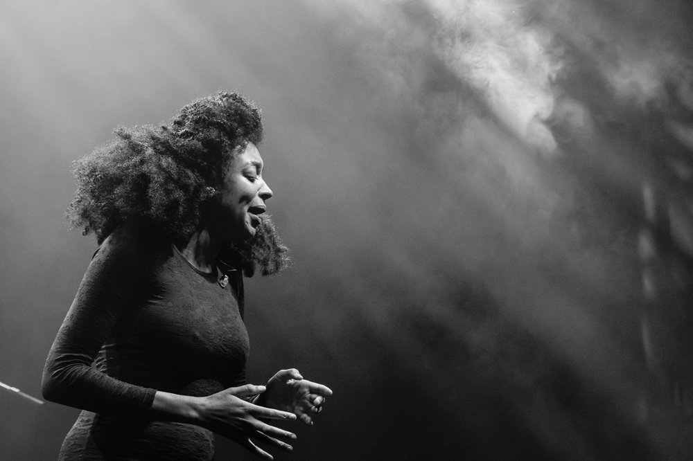 Nubiya Brandon - Nubiyan Twist, Lugano Estival Jazz, 2017.