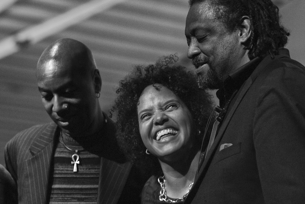 Lonnie Plaxico, Terri Lyne Carrington, Chico Freeman