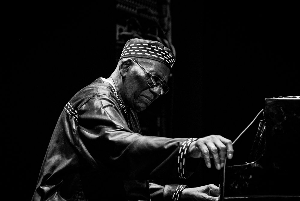 Randy Weston, Chiasso Jazz Festival 2015.