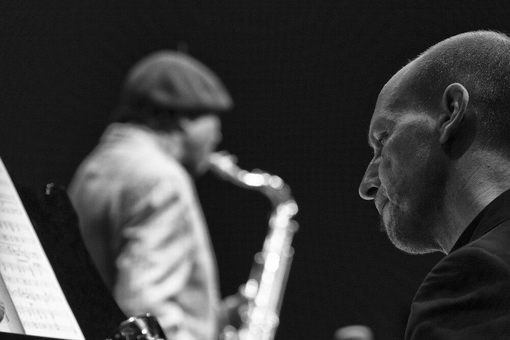 Benny Golson, Antonio Faraò, Chiasso Jazz Festival, 2016.