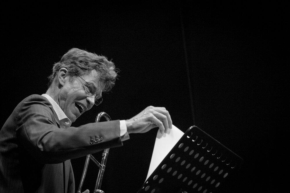 Ray Anderson, Chiasso Jazz Festival, 2016.