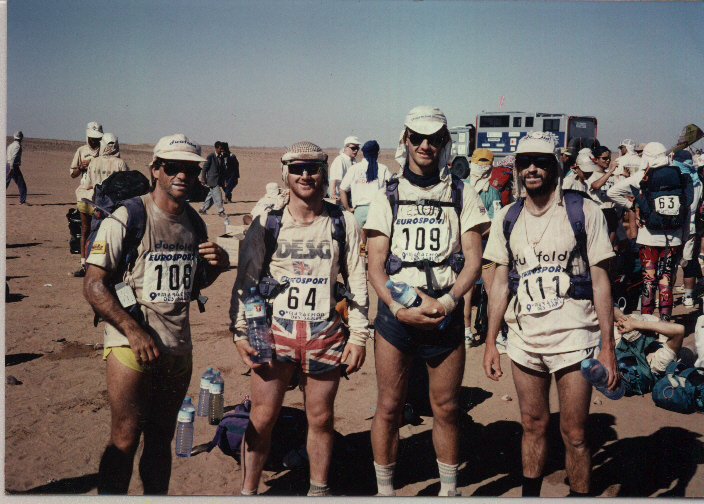 1994 First British Team to complete Marathon de Sables