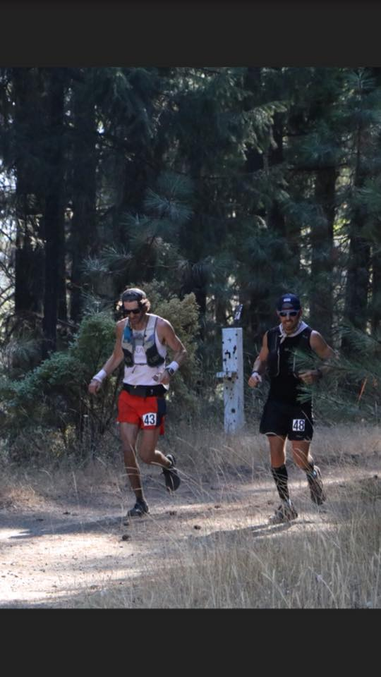 Pine to Palm - Running with Erik at mile 53ish