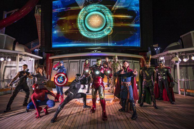 Disney Cruise Line Adds Star Wars and Marvel Days at Sea for 2019