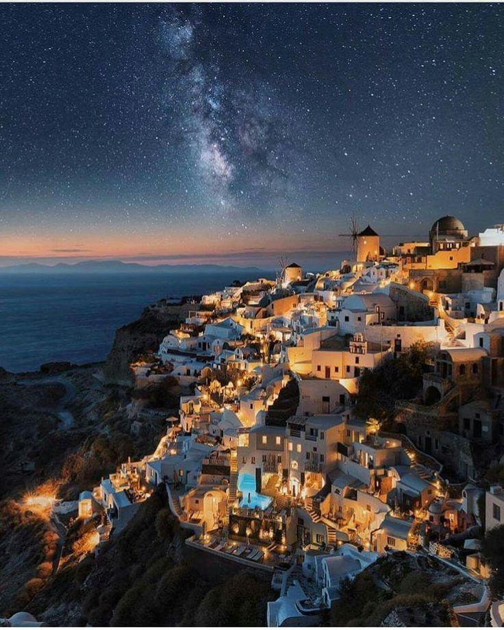 Santorini under the Stars