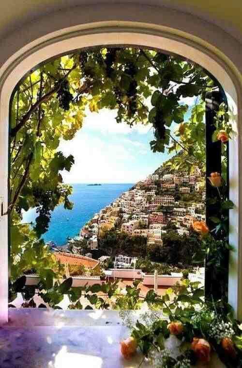 Special view in Cinque Terra Italy