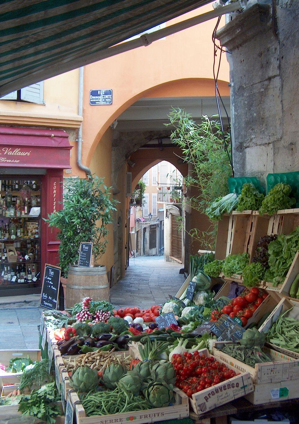 Typical marketplace in Mediterrean