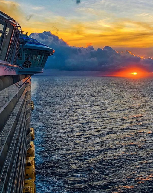 Sunset on ship at sea.png