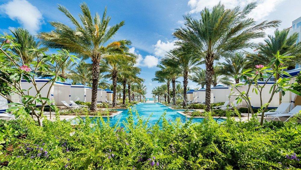 Grand Pool with Cabana's