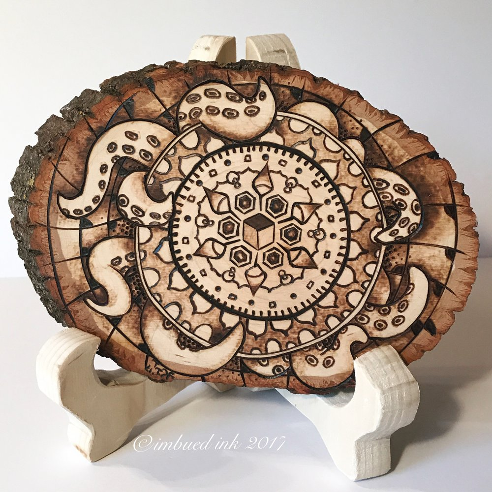 Original Pyrography Artwork