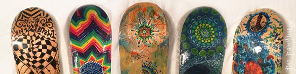 skateboards -