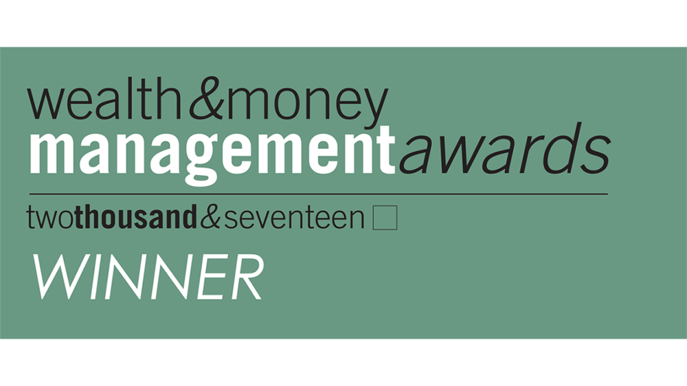 Wealth & Money Management Award 2017 Best UK Boutique Investment Manager