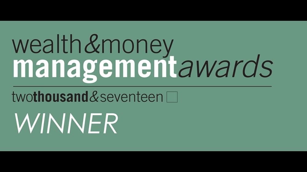 Wealth & Money Management Award 2017 Best UK Boutique Investment Manager