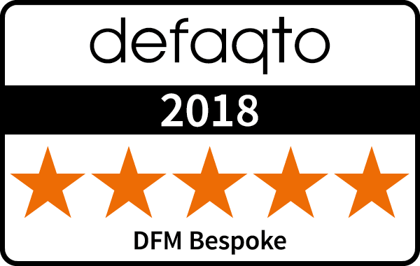 5 Star Defaqto rating for Bespoke Discretionary Management