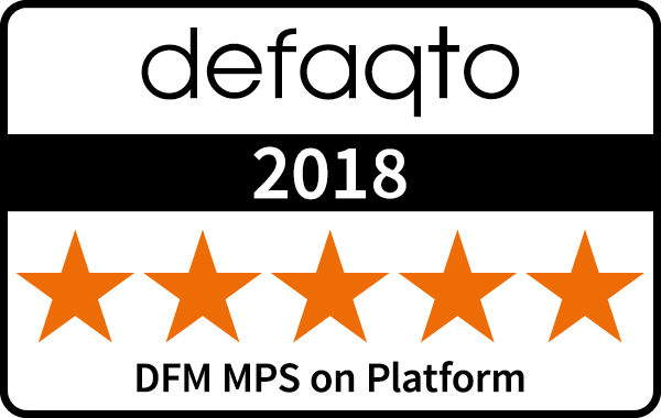 5 Star Defaqto rating for Discretionary Model Portfolio Service on Platform