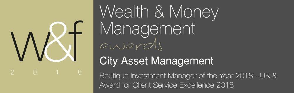 Wealth & Money Management Award 2018 Best UK Boutique Investment Manager
