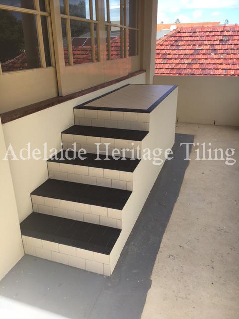 Mintaro Bullnose Slate Steps